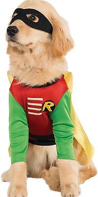PET COSTUME Batman Robin Classic HALLOWEEN COSPLAY - Batman Robin Hunde Kostüm