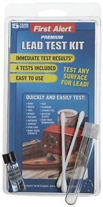 First Alert LT1 Premium Lead Test Kit- Check Toys Paint Water Soil