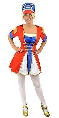 ÜM NUSSKNACKER SPIELZEUG SOLDATEN  WEIHNACHTEN VERKLEIDUNG (Spielzeug, Soldat Damen Kostüm)