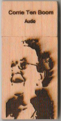 Corrie Ten Boom on USB FLASH DRIVE - Audio Collection - 16 Recordings