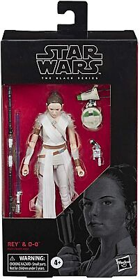"""Star Wars The Black Series Rey & D-O Action Figure 6-Inch Scale 6"""" Ray and DO"""