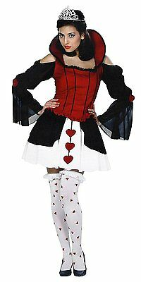 Alice in Wonderland, Queen of Harlots Hearts Adult Costume Size 2-4 Extra Small](Alice In Wonderland Costume Shoes)