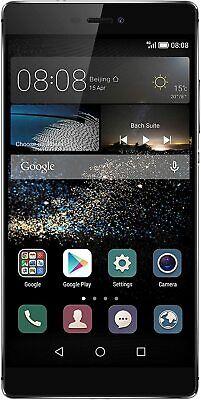 Huawei P8 GRA-L09 16GB Titanium Grey Sim Free (Unlocked) Smartphone