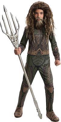 Aquaman Justice League DC Superhero Fancy Dress Up Halloween Child Costume - Aquaman Costume Kids