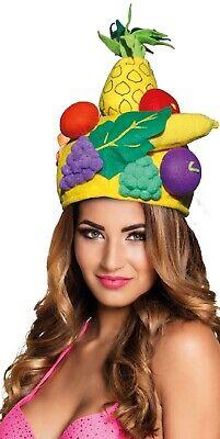 Herren Damen Tropische Früchte Carmen Miranda Sommer Kostüm Kleid Outfit - Carmen Miranda Kostüm
