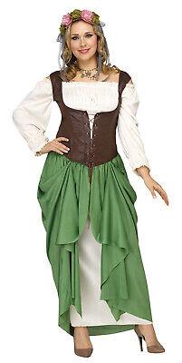 issance Oktoberfest Bar Wench Maiden Dress Costume (Bar Wench Halloween)