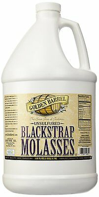 Golden Barrel Bulk Unsulfured Blackstrap Molasses Jug  128 Fl Oz   New