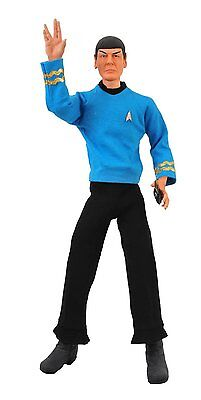 "STAR TREK TOS TV ULTIMATE TALKING SPOCK ACTION FIGURE 1:4 19"" TOY COLLECTIBLE"