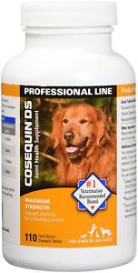 Cosequin DS Joint Supplement for Dogs Maximum Strength 110 ct