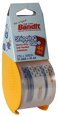 2 Rolls Carton Box Sealing Shipping Packing Tape 2 X 1600 Bandit Tape
