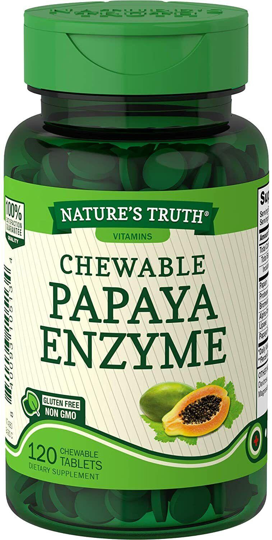 Mejores pastillas de papaya pura natural para adelgazar bajar de peso
