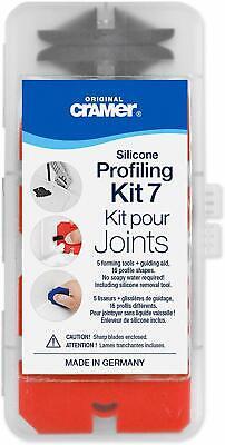 Cramer FUGI 7 Kit 7 Piece Grouting & Silicone Profiling & Applicator Tool Kit