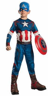 Avengers 2 Captain America Costume (Rubie's Costume Avengers 2 Age of Ultron Child's Captain America Costume,)
