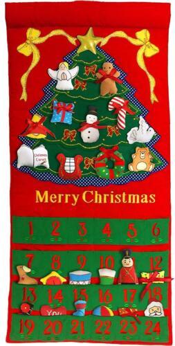 Merry Christmas Tree Advent Calendar