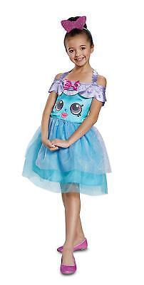 Moose Shopkins Handbag Harriet Costume Girls Sparkly Fancy Dress Child SM 4-6x