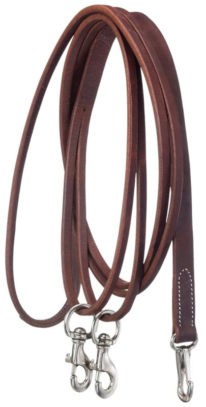 Leather Draw Reins a Trainers Tool