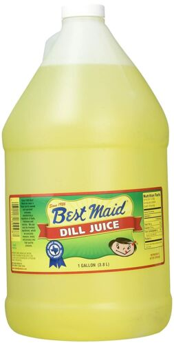 Best Maid Dill Juice, No. 1 Pickle In Texas, 1 Gallon