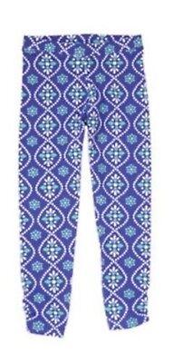 NWT Gymboree Girls Sparkle Safari Blue Batik Print Leggings Size 5 6 & 7 - Girls Sparkle Leggings