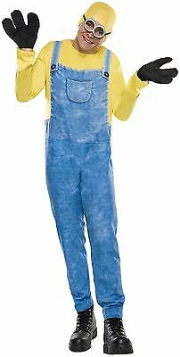 Minion Bob Costume for Men Despicable Me New by Rubies 810463 - Costume For Minions