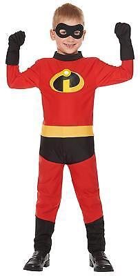 Kinder Kleinkind Disney Pixar Incredibles Sprint Kostüm Halloween Cosplay (Disney Kleinkind Halloween Kostüme)