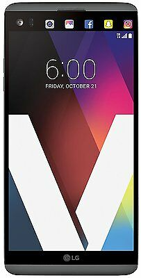 Unlocked LG V20 H910 AT&T Android 7 64GB 16MP Smartphone Titan Grey Fair