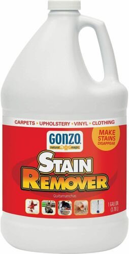 Gonzo Carpet Stain Remover - 1 Gallon - Natural Magic Super Strength Commercial