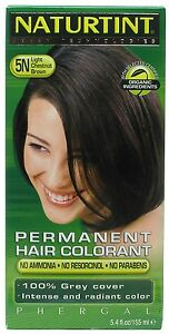 NATURTINT, HAIR COLOR,5N,LT CHESTNUT 4.5 OZ EA 1