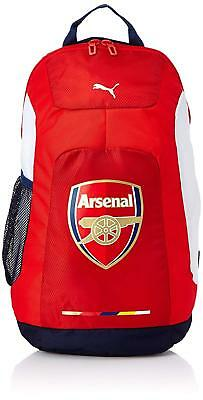 PUMA 07286501 ARSENAL GRAPHIC BACKPACK Red/White/Blue Mesh Out-Door Back Pack