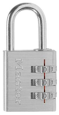 Master Lock 630d Combination Luggage Padlock Silver - 2-pack