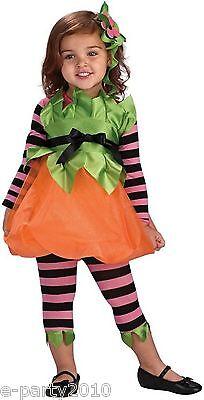 Pumpkin Spice Costume (PUMPKIN SPICE INFANT HALLOWEEN COSTUME SET ~ Party Supplies Romper Stripes)