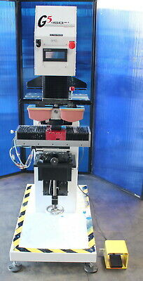 5.5 Printex G5-150mkii 2 Color Double Action Wide Pad Printing Machine