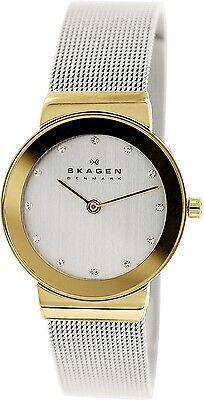 Skagen Women's 358SGSCD Silver Stainless-Steel Quartz Fashion Watch