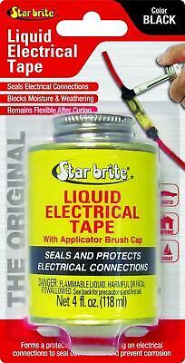 Liquid Electrical Tape Waterproof Outdoor Cord Wiring Sealant Black Fluid Shrink