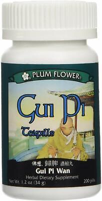 Gui Pi Wan, 200 Pills, by Plum Flower Gui Pi Wan 200 Pills