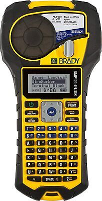 Brady Bmp21-plus Portable Label Printer Black On White