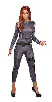 Captain America 2 - Black Widow - Adult Costume (Rubies Brand) - Black Widow Costume Adult