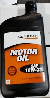 Generac - Motor Oil Sae 10w-30 Quart 0j5139 Universal Generator Parts