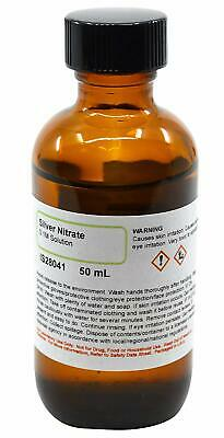 Silver Nitrate Solution 0.1m 50ml - The Curated Chemical Collection