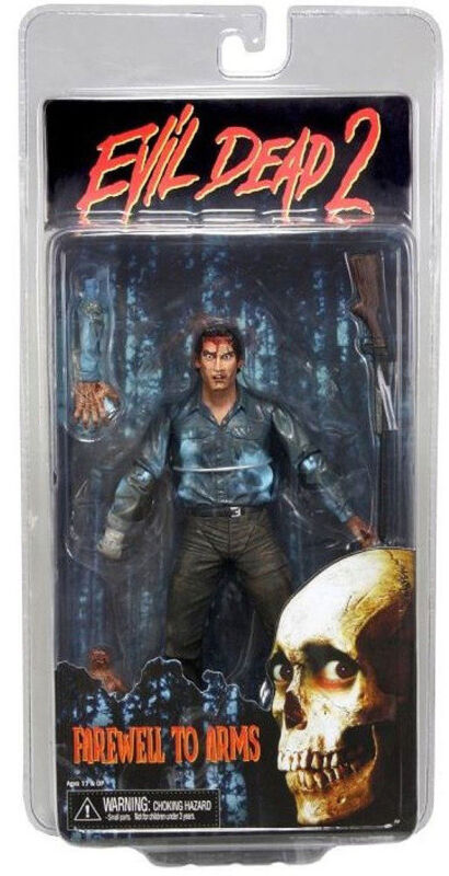 EVIL DEAD 2 NECA ASH FIGURE FAREWELL TO ARMS, NEW IN PACKAGE