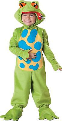 LIL' FROGGY TODDLER COSTUME SET SIZE 4T InCharacter Halloween Frog 4 T >NEW<