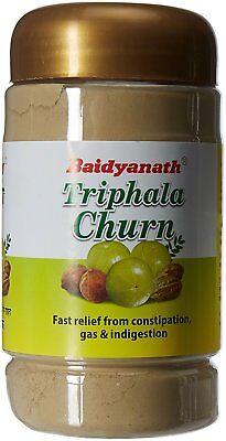 - Baidyanath Triphala Churn 500g Herbal Remedy for Gas Constipation Indigestion