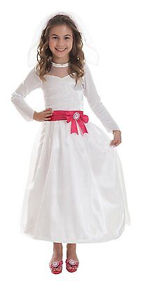 e Braut 5-7 / Gr. 116 (Barbie Kostüm)