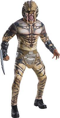 Assassin Predator Movie Alien Hunter Fancy Dress Halloween Deluxe Adult - Alien Hunter Kostüm