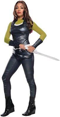Damen Guardians Of The Galaxy Gamora Unendlichkeit Krieg Kostüm Kleid (Guardian Of The Galaxy Gamora Kostüm)