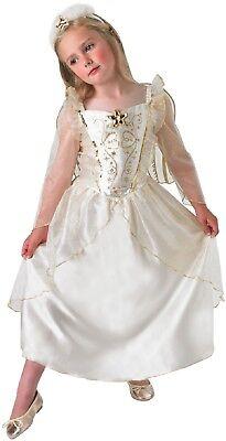 Kinder Mädchen Engel Gabriel Weihnachten Geburt Kostüm Kleid Outfit