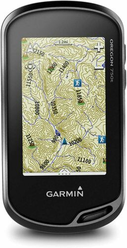 New Garmin Oregon 750T, Touchscreen Handheld GPS w. GPS/GLONASS, Camera & TOPO