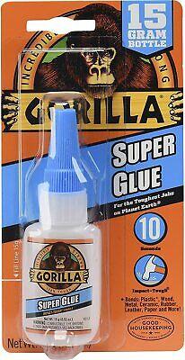 Gorilla Super Glue 15 Gram Clear Pack Of 1 Fastfree Shipping