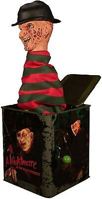 Burst-A-Box Freddy Krueger 36cm Music Surprise Box Nightmare on ELM Street Mezco