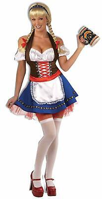 Fraulein Oktoberfest Bavarian Beer Garden Girl Fancy Dress Up Halloween Costume