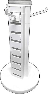 Spinning Retail Store Display Hanging Counter Top Rackmulti Tier Compact